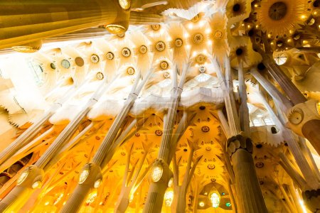Barcelona, Spain, September 20, 2019. The Sagrada ...