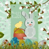 layout of Easter greeting card 11