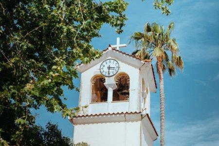 Photo pour Hôtel de Ville d'Athènes, vue de la Place de la Vieille Ville, Grèce. - image libre de droit