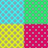 Colorful Football seamless patterns Seamless football, soccer seamless patterns.