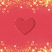 Valentine's greeting card, 3D illustration - Illustration
