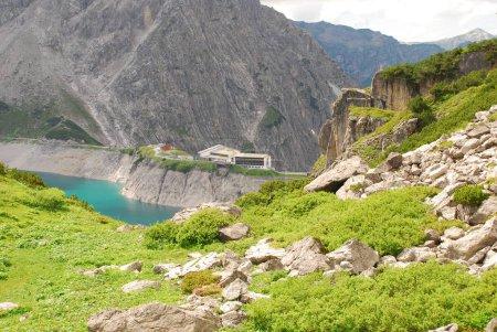 scenic view of beautiful green hills