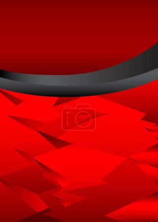 Illustration for Modern graphic with curved lines for message board, for text and message design, abstract vector illustration. - Royalty Free Image