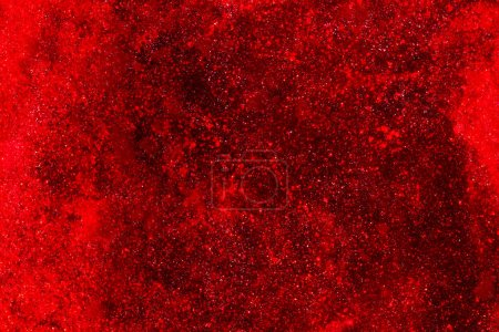 Photo for Red dynamic liquid and abstract background - Royalty Free Image