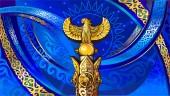 SAMRUK - Monument in the city of Qazaqstan a symbol of Kazakhstan and Independence sights of Kazakhstan a beautiful architecture a square in AstanaBird of happiness golden bird golden Samruk Symbols of Qazaqstan