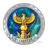 Qazaqstan SAMRUK - Monument in the city of Qazaqstan a symbol of Kazakhstan and Independence sights of Kazakhstan a beautiful architecture a square in AstanaBird of happiness golden bird golden Samruk Symbols of Qazaqstan