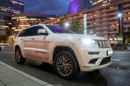 Warsaw PolandApril 2018 New SUV