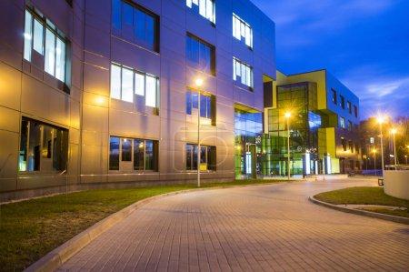 Foto de Edificios de oficinas modernos, Szczecin, Polonia - Imagen libre de derechos