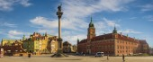 Warsaw, Poland-April 2019-The Royal Castle on the Castle Square