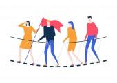 Motivation - colorful flat design style vector illustration