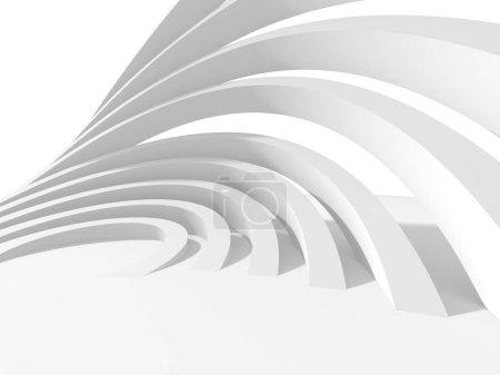 Geometryczne art deco makieta tło w kolorze białym z cieni