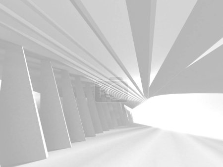 Photo for Abstract Architecture Modern Design Background. 3d Render illustration - Royalty Free Image