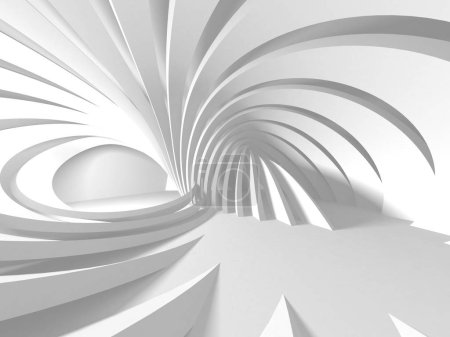 Photo for Abstract Modern White Architecture Background - Royalty Free Image