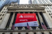 New York Stock Exchange in New York City, USA