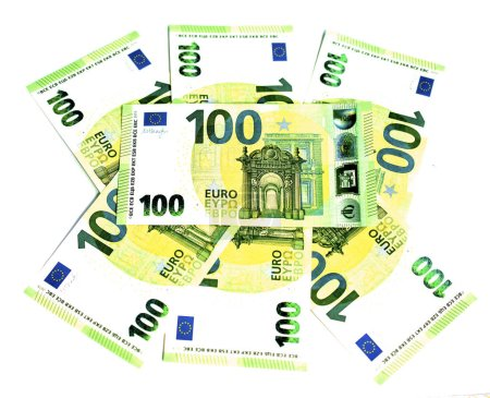 2019 new 100 euro banknotes. Perfect good luck pic...
