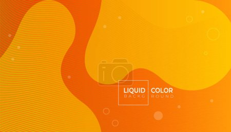 Fluid shapes color abstract geometric background with lines for web, brochure, catalog.