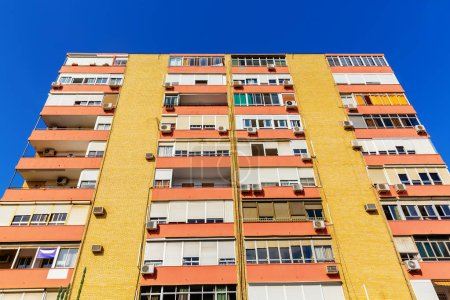 Photo for Picture of an apartment block in Seville, Spain - Royalty Free Image