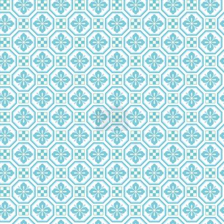 Illustration for SHOKKOU -  seamless Japanese traditional pattern - Royalty Free Image