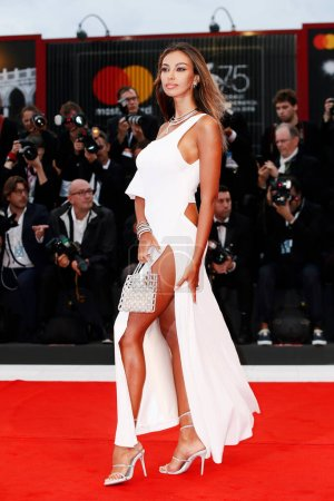 Photo for VENICE, ITALY - SEPTEMBER 01: Madalina Ghenea walks the red carpet of the movie 'Suspiria' during the 75th Venice Film Festival on September 1, 2018 in Venice, Italy. - Royalty Free Image