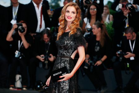 Photo for VENICE, ITALY - SEPTEMBER 03: Gaia Bermani Amaral walks the red carpet of the movie 'At Eternity's Gate' during the 75th Venice Film Festival on September 3, 2018 in Venice, Italy. - Royalty Free Image