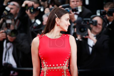 Photo for CANNES, FRANCE - MAY 10: Irina Shayk attends the premiere of 'Sorry Angel' during the 71st  Cannes Film Festival on May 10, 2018 in Cannes, France - Royalty Free Image