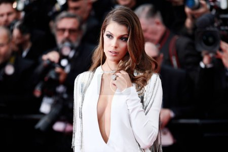 Photo for CANNES, FRANCE - MAY 10: Iris Mittenaere attends the premiere of 'Sorry Angel' during the 71st  Cannes Film Festival on May 10, 2018 in Cannes, France - Royalty Free Image