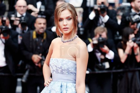 Photo for CANNES, FRANCE - MAY 10:   Josephine Skriver attends the premiere of 'Sorry Angel' during the 71st  Cannes Film Festival on May 10, 2018 in Cannes, France - Royalty Free Image