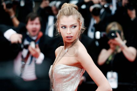 Photo for CANNES, FRANCE - MAY 10: Stella Maxwell attends the premiere of 'Sorry Angel' during the 71st  Cannes Film Festival on May 10, 2018 in Cannes, France - Royalty Free Image