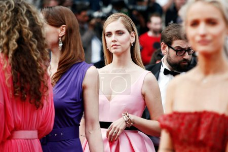 Photo for CANNES, FRANCE - MAY 13: Chiara Ferragni attends the premiere of  'Sink Or Swim' during the 71st Cannes Film Festival on May 13, 2018 in Cannes, France. - Royalty Free Image
