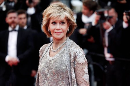 Photo for CANNES, FRANCE - MAY 14: Jane Fonda attends the screening of 'BlacKkKlansman' during the 71st Cannes Film Festival on May 14, 2018 in Cannes, France. - Royalty Free Image