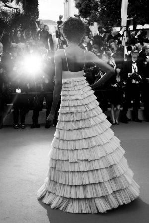 Photo pour CANNES, FRANCE - 15 MAI : Maria Borges assiste à la projection de 'Solo : A Star Wars Story' lors du 71e Festival de Cannes le 15 mai 2018 à Cannes, France. - image libre de droit