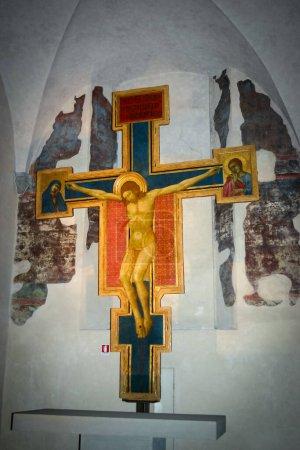 Niesamowity krzyż San Damiano w Firenze, Włochy