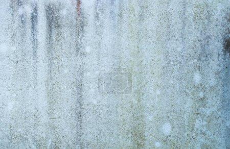 Foto de Textura de pared azul antiguo con fondo húmedo y grueso - Imagen libre de derechos
