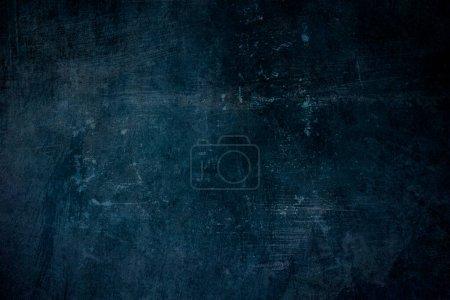 Photo pour Vieux fond grungy bleu avec des textures - image libre de droit