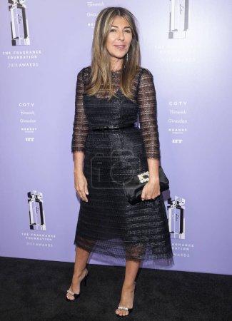 New York, NY - June 12, 2018: Nina Garcia attends 2018 Fragrance Foundation Awards at Alice Tully Hall at Lincoln Center