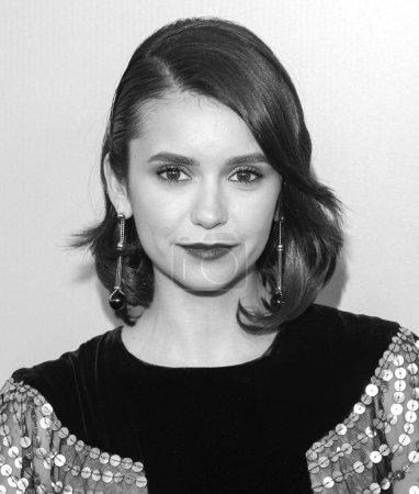 New York, NY - June 12, 2018: Nina Dobrev attends 2018 Fragrance Foundation Awards at Alice Tully Hall at Lincoln Center