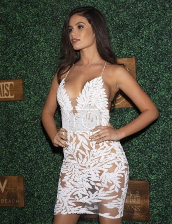 MIAMI, FL - JULY 15: Anne de Paula attends the 2018 Sports Illustrated Swimsuit show at PARAISO during Miami Swim Week at The W Hotel South Beach