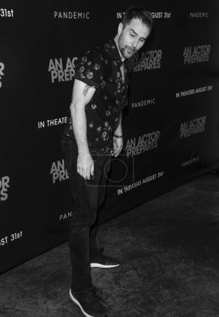 New York, NY - August 29, 2018: Sam Rockwell attends 'An Actor Prepares' New York Screening at Metrograph