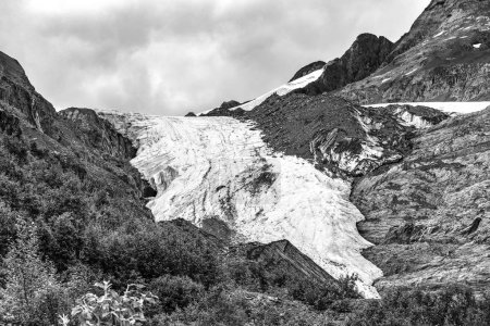 Photo for A view of the Worthington Glacier on Prince William Sound, near Valdez, Alaska - Royalty Free Image