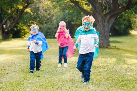 Cute adorable preschool Caucasian children