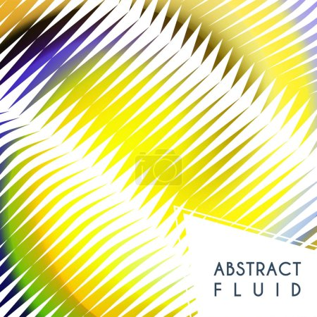 Photo for Abstract wavy background, optical art, opart striped. Vector waves, geometry line stripes - Royalty Free Image