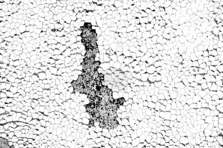 Photo for Abstract black and white grunge background. Monochrome texture. - Royalty Free Image