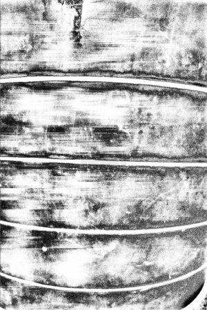 Photo for Abstract grunge background. Monochrome texture. Black and white textured background - Royalty Free Image