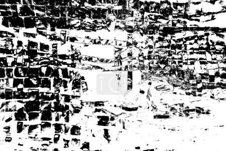 Photo pour Contexte abstrait. Texture monochrome. Tons noir et blanc. - image libre de droit