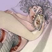 intimate selfie