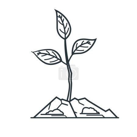 sapling, design vector illustration