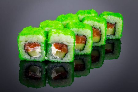 Photo for California green roll close-up view - Royalty Free Image