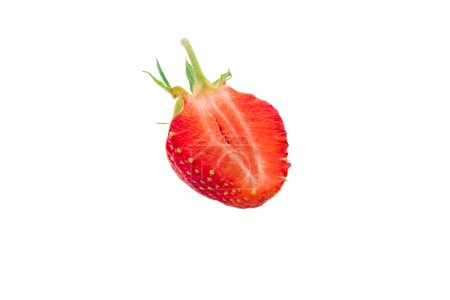 Photo for Strawberry isolated on white background - Royalty Free Image