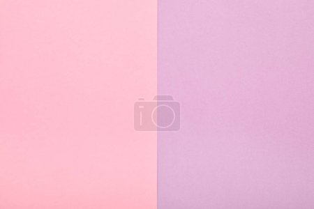 Photo for Pastel colored paper texture minimalism background. pink and lilac paper sheets. - Royalty Free Image