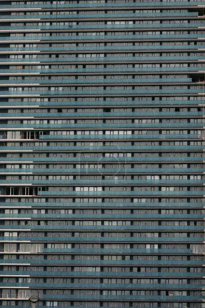Photo for Facade of a modern apartment building. Exterior of building - Royalty Free Image